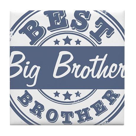 Best Big Brother Tile Coaster