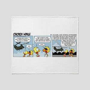 0582 - Boeing Chinook Throw Blanket