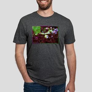 Cactus Flower Buds Mens Tri-blend T-Shirt