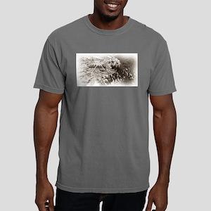 Sepia Tiger Mens Comfort Colors Shirt