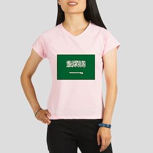 Saudi Arabia Flag Performance Dry T-Shirt
