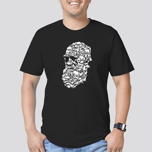 Darwin; Endless Forms Men's Fitted T-Shirt (dark)