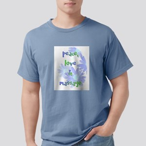 Peace, Love and Massage Mens Comfort Colors Shirt