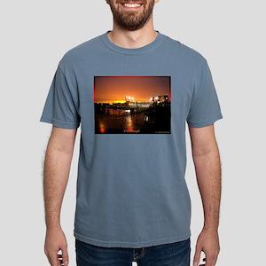 Pittsburgh Sunset Mens Comfort Colors Shirt