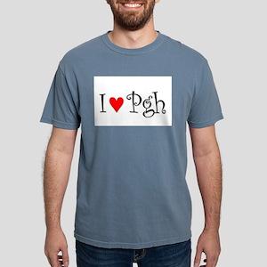 I Love Pittsburgh Mens Comfort Colors Shirt
