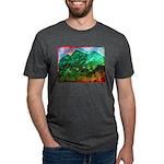 Green Mountains Mens Tri-blend T-Shirt