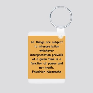 nietzsche gifts and apparel. Aluminum Photo Keycha