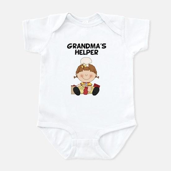 Grandma's Helper (Baking) Infant Bodysuit