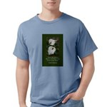 There are Always Flowers Mens Comfort Colors Shirt