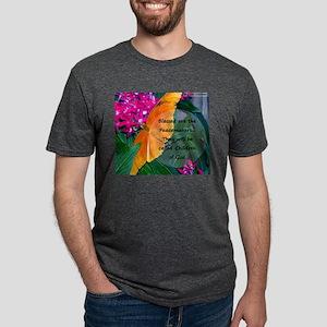 Peacemaker Butterfly Mens Tri-blend T-Shirt