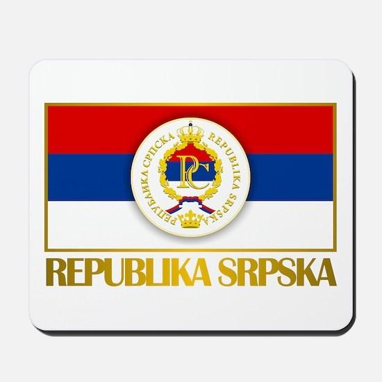 """Republika Srpska Mousepad"