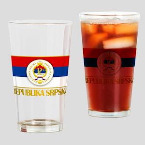 """""""Republika Srpska Drinking Glass"""