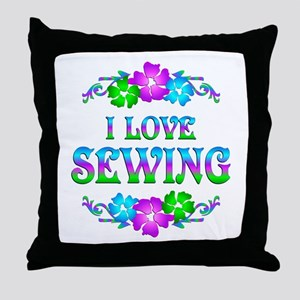 Sewing Love Throw Pillow
