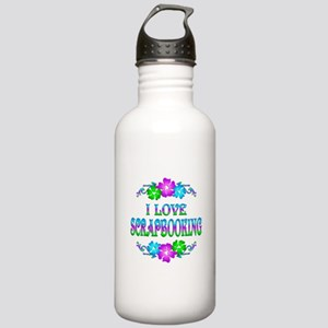 Scrapbooking Love Stainless Water Bottle 1.0L