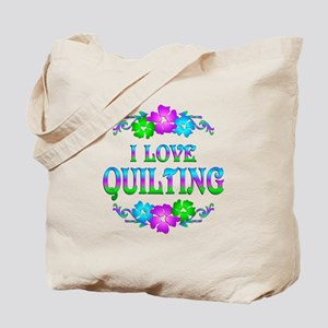 Quilting Love Tote Bag