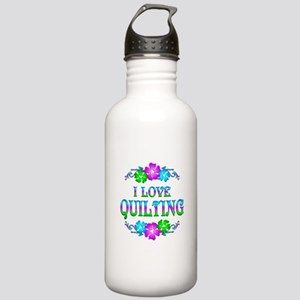 Quilting Love Stainless Water Bottle 1.0L