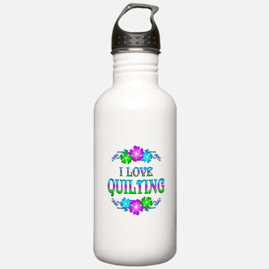 Quilting Love Water Bottle