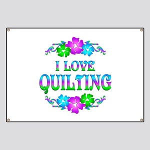 Quilting Love Banner