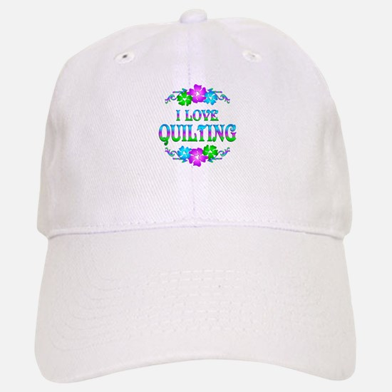 Quilting Love Baseball Baseball Cap