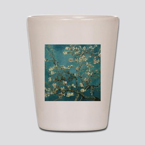 Van Gogh Almond Branches In Bloom Shot Glass