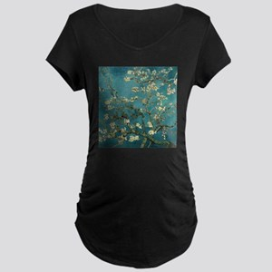 Van Gogh Almond Branches In Bloom Maternity Dark T