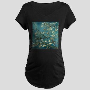 Van Gogh Almond Branches In Bloom Maternity Dark T