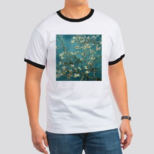 Van Gogh Almond Branches In Bloom Ringer T