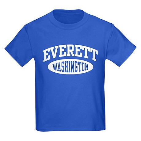 Everett Washington Kids Dark T-Shirt