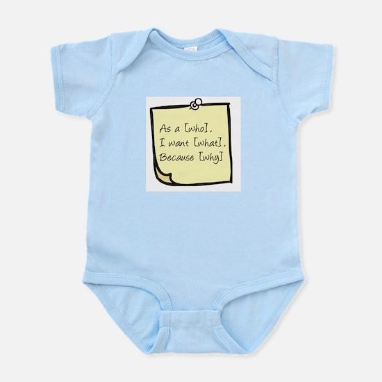 User Story Infant Bodysuit