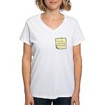 User Story Women's V-Neck T-Shirt