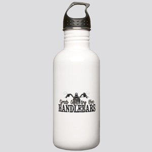 Grab Life By The Handlebars Stainless Water Bottle