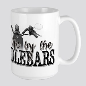 Grab Life By The Handlebars Large Mug