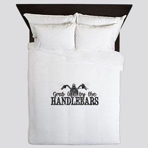 Grab Life By The Handlebars Queen Duvet