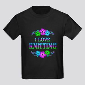 Knitting Love Kids Dark T-Shirt