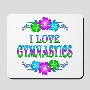 Gymnastics Love Mousepad