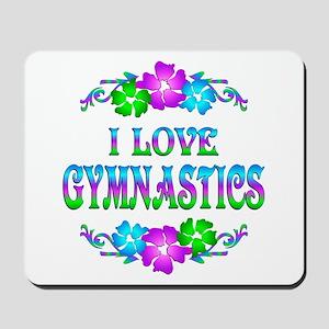 Gymnastics Love Mousepad