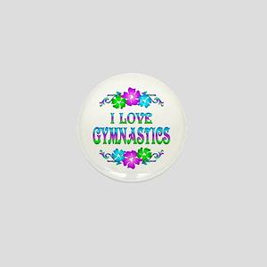 Gymnastics Love Mini Button