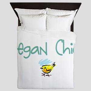 Vegan Chick Queen Duvet
