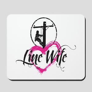 Line Wife Mousepad