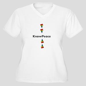 V-neck Tee Plus Size T-Shirt