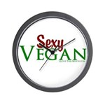 Sexy Vegan Wall Clock