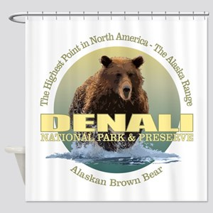 Denali (Bear) WT Shower Curtain