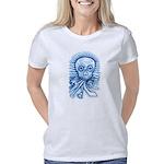 Calaca Dia Muertos Women's Classic T-Shirt
