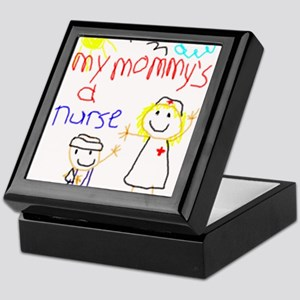 Mommy's a Nurse Keepsake Box