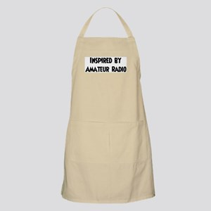 Inspired by Amateur Radio BBQ Apron