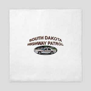 South Dakota Highway Patrol Queen Duvet