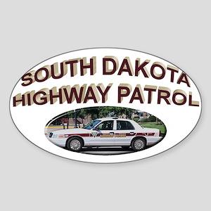 South Dakota Highway Patrol Sticker (Oval)