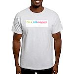 I'm a MilkMommy Ash Grey T-Shirt