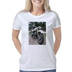 vintage military motorcycl Women's Classic T-Shirt