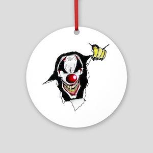 Psycho Clown Ornament (Round)